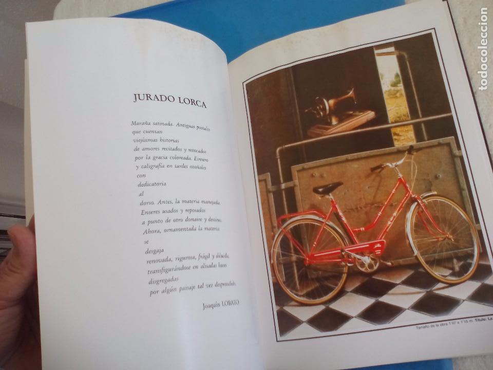 Arte: Cátalogo del pintor Jurado Lorca. Exposición Antológica. 1990. Vélez-Málaga. - Foto 7 - 80738434