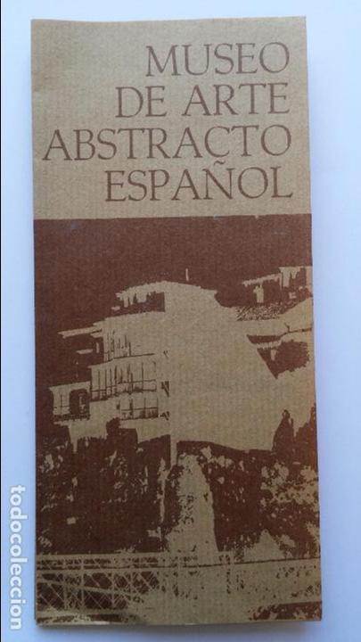 CATALOGO DE PINTURA DEL MUSEO DE ARTE ABSTRACTO DE CUENCA CON AÑOS (Arte - Catálogos)