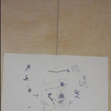Arte: ANTIGUO CARTEL EXPOSICION.MOMPO.GALERIA JUANA AIZPURU.SEVILLA.1975. Lote 82351864