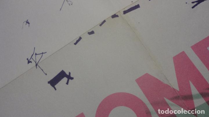 Arte: ANTIGUO CARTEL EXPOSICION.MOMPO.GALERIA JUANA AIZPURU.SEVILLA.1975 - Foto 4 - 82351864