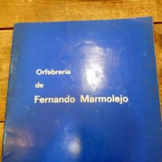 Arte: SEMANA SANTA SEVILLA,1976, CATALOGO EXPOSICION FERNANDO MARMOLEJO, CLUB URBIS, AUTOGRAFIADO. Lote 82650904