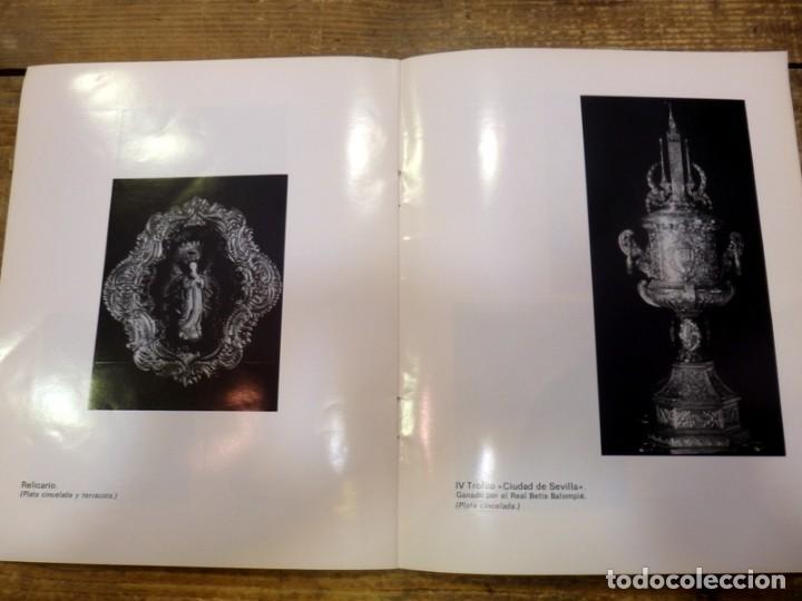 Arte: SEMANA SANTA SEVILLA,1976, CATALOGO EXPOSICION FERNANDO MARMOLEJO, CLUB URBIS, AUTOGRAFIADO - Foto 3 - 82650904