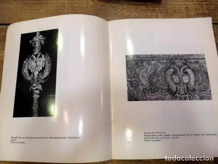 Arte: SEMANA SANTA SEVILLA,1976, CATALOGO EXPOSICION FERNANDO MARMOLEJO, CLUB URBIS, AUTOGRAFIADO - Foto 5 - 82650904