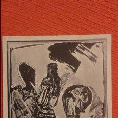 Arte: ANTIGUO CATALOGO.EXPOSICION.BONIFACIO ALFONSO.GALERIA JUANA DE AIZPURU.SEVILLA.AÑOS 70. Lote 82671760