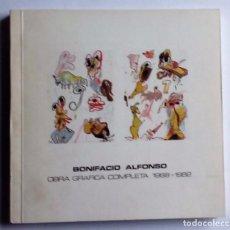 Arte: BONIFACIO ALONSO. OBRA GRÁFICA COMPLETA 1968-1982 MUSEO DE BELLAS ARTES DE BILBAO. Lote 83095880