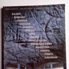 Arte: EXPOSICIÓN COLECTIVA:BALERDI-BONIFACIO-GOENAGA-GORTAZAR-IÑURRIETA-JAUREGUI-MIEG-MORRAS-ZUMETA,.... Lote 83098968