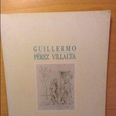 Arte: GUILLERMO PEREZ VILLALTA - GALERIA SOLEDAD LORENZO - 16 NOVIEMBRE / 14 DICIEMBRE 1990. Lote 83758712