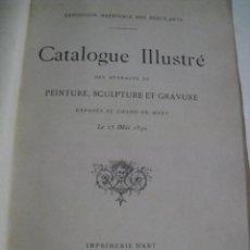 Arte: EXPOSITION BEAUX ARTS - CATALOGUE IL.LUSTRE - PARIS 1890. Lote 84298660