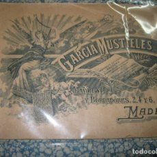 Arte: CATALOGO RELIGIOSO ANTIGUO GARCIA MUSTIELES CASUYAS ESCULTURAS PLATA VIRGENES MUEBLES DE IGLESIA. Lote 84479296