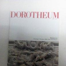 Arte: DOROTHEUM SKULPTUREN PALAIS DOROTHEUM 2005 CATÁLOGO DE SUBASTAS. Lote 84735832
