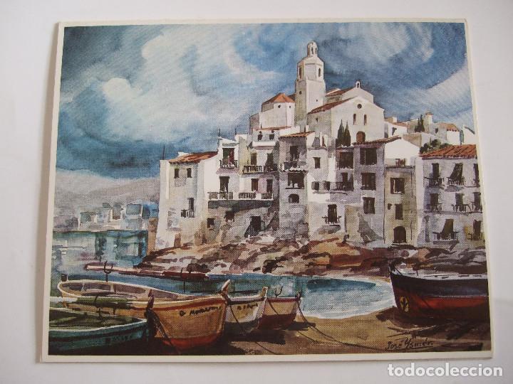 JOSE YSMER - FOLLETO DIPTICO EXPOSICION - 1975 - CENTRO ARTISTICO GRANADA (Arte - Catálogos)