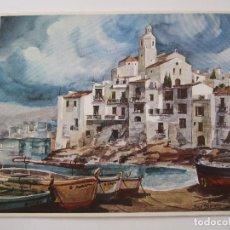 Arte: JOSE YSMER - FOLLETO DIPTICO EXPOSICION - 1975 - CENTRO ARTISTICO GRANADA. Lote 85425484
