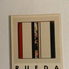 Arte: GERARDO RUEDA : OBRA RECIENTE : SALA DE EXPOSICIONES DE BANCO ZARAGOZANO 1991. Lote 85702164