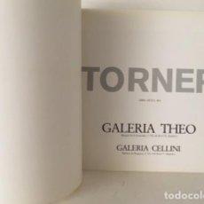 Arte: GUSTAVO TORNER. (EXPOSICIÓN EN GALERÍA THEO Y GALERIA CELLINI. MADRID) CALVO SERRALLER CATÁLOGO. Lote 86012972