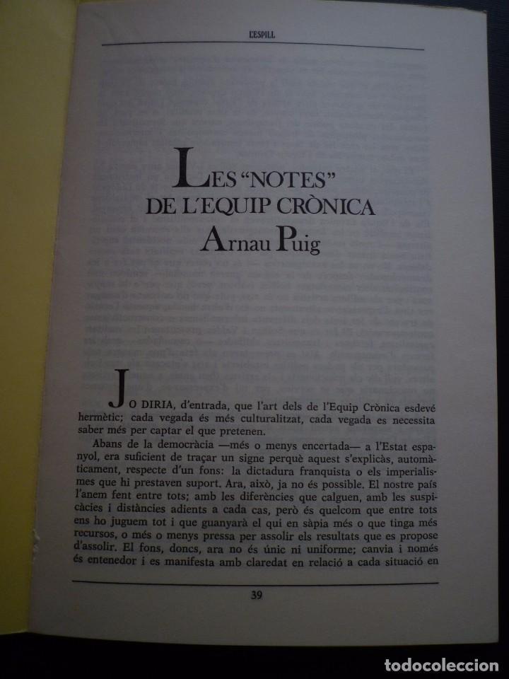 Arte: EQUIPO CRÓNICA. L' ESPILL. Nº 12 VALENCIA 1981.ARNAU PUIG. - Foto 2 - 86210008