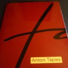Arte: ANTONI TÀPIES. CATÁLOGO EXPOSICIÓN MUSEO NACIONAL DE ARTE DECORATIVO. BUENOS AIRES 1992. Lote 86547052