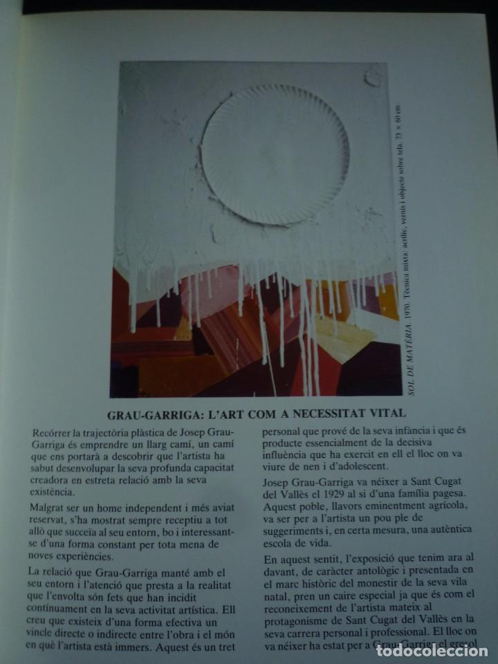 Arte: GRAU GARRIGA Y SANT CUGAT DEL VALLÈS. CLAUSTRE DEL MONESTIR. 1985. - Foto 2 - 149637301