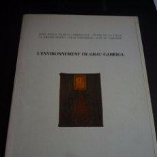 Arte: GRAU GARRIGA. PINTURES, DIBUIXOS I L' ENVIRONNEMENT. CENTRE CULTURAL D' ALCOI. 1993.. Lote 86615712