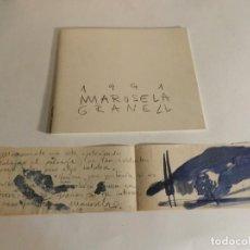 Arte: MARUSELA GRANELL LA VENTANA 1991 INCLUYE ORIGINAL A TINTA OBSERVAR CATÁLOGO CATALOG CATALOGUE. Lote 87111580