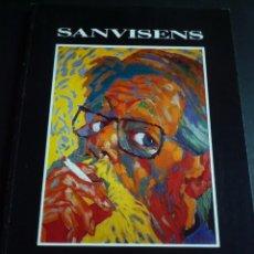 Arte: RAMON SANVICENS. ELS AUTORETRATS. DEPARTAMENT CULTURA GENERALITAT. PALAU MOJA. BARCELONA 1990. Lote 90542517