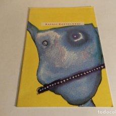 Arte: RAFAEL BARTOLOZZI : PAVELLÓ DE CATALUNYA, EXPO'92 SEVILLA : DEL 13 AL 19 DE JULIO DE 1992. Lote 87200188