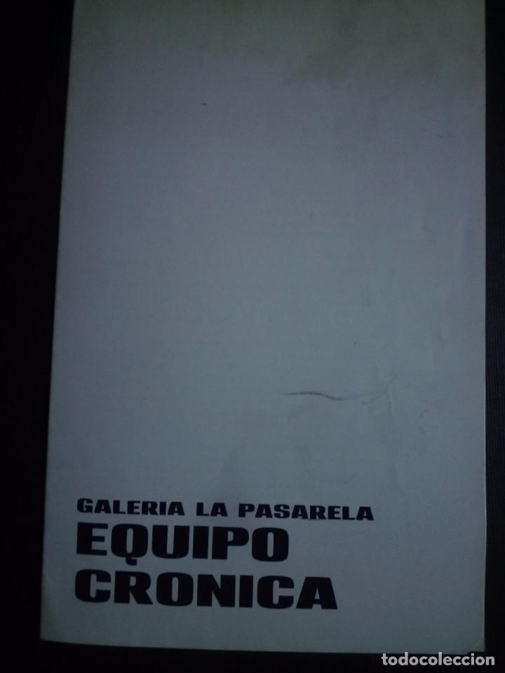EQUIPO CRONICA. GALERIA LA PASARELA.SEVILLA. 1966 (Arte - Catálogos)