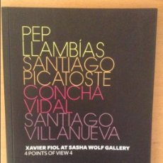 Arte: XAVIER FIOL AT SASHA WOLF GALLERY. 4 POINTS OF VIEW 4. Lote 88845252