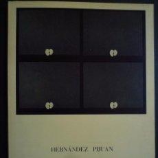 Arte: HERNÁNDEZ PIJOAN. EXPOSICIÓN SALA GASPAR. 1968. Lote 89061248