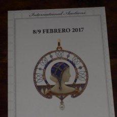 Arte: CATALOGO SUBASTA LAMAS BOLAÑO 8-9 FEBRERO 2017. VER FOTOS.. Lote 89065276