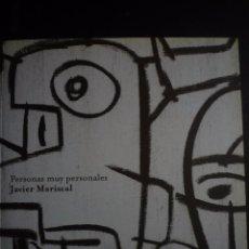 Arte: JAVIER MARISCAL. PERSONAS MUY PERSONALES. EXPOSICIÓN CAN SISTERE.CENTRE D' ART CONTEMPORANI,2008. Lote 89220960