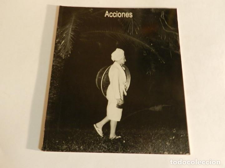 ACCIONES.- CUADERNOS FORMALES Nº 4 COLEGIO DE ARQUITECTOS, MÁLAGA. (Arte - Catálogos)