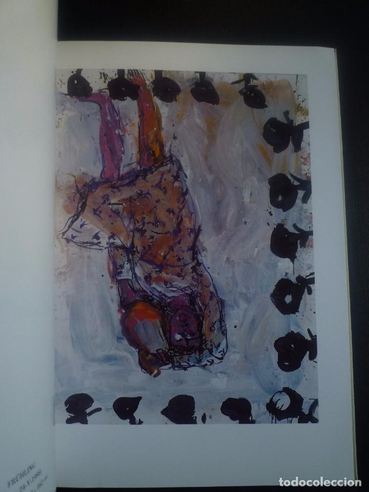 Arte: GEORG BASELITZ. OLIS I AQUAREL.LES1998. GALERIA JOAN PRATS. BARCELONA 1999 - Foto 2 - 89430176