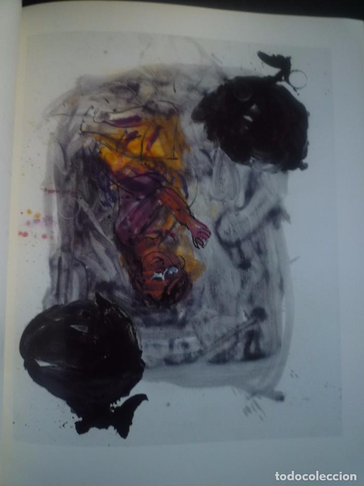 Arte: GEORG BASELITZ. OLIS I AQUAREL.LES1998. GALERIA JOAN PRATS. BARCELONA 1999 - Foto 3 - 89430176