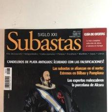 Arte: CATÁLOGO DE SUBASTAS SIGLO XXI DE OCTUBRE 2006. Lote 89592588