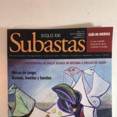Arte: CATÁLOGO DE SUBASTAS SIGLO XXI DE AGOSTO 2006.. Lote 89593028