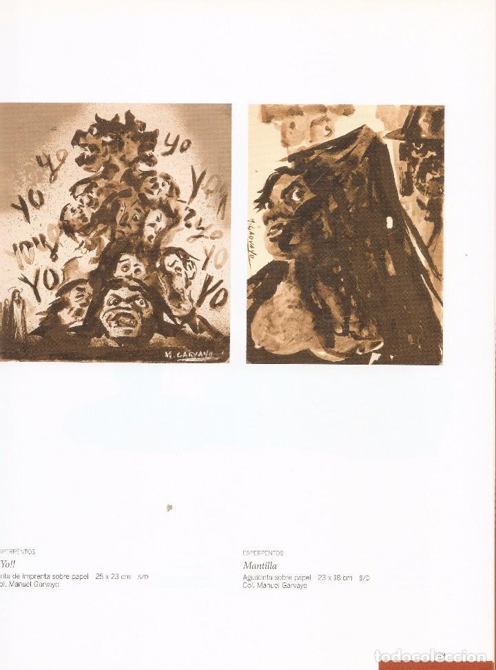 Arte: MANUEL GARVAYO 1911 - 1983. MUSEO DEL PATRIMONIO MUNICIPAL. MÁLAGA, 2010. - Foto 5 - 89682836