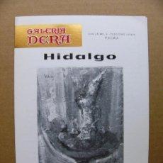 Arte: CATALOGO PINTOR JOAQUIM HIDALGO PAGES EXPOSICION DE PINTURA AL OLEO 1979. Lote 89686880