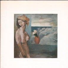 Arte: JOSÉ MORENO VILLA 1887 - 1955. EXPOSICIÓN HOMENAJE. MUSEO DE MÁLAGA, 1977.. Lote 89687448