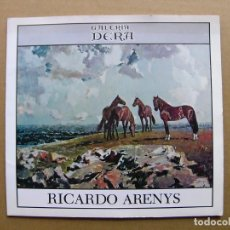 Arte: CATALOGO PINTOR RICARDO ARENYS EXPOSICION HOMENAJE DE PINTURA AL OLEO 1979. Lote 89687532
