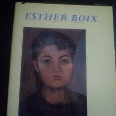 Arte: ESTHER BOIX. EXPOSICIÓN BANCO BILBAO VIZCAYA 1996. Lote 89696324