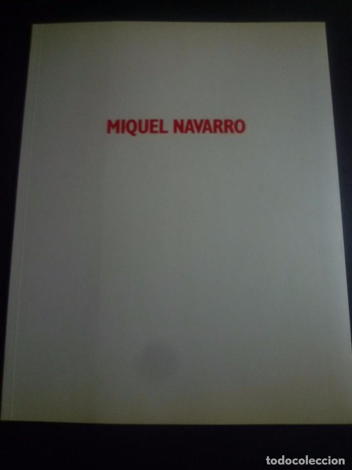 MIQUEL NAVARRO. GALERIA JOAN PRATS.1991 (Arte - Catálogos)