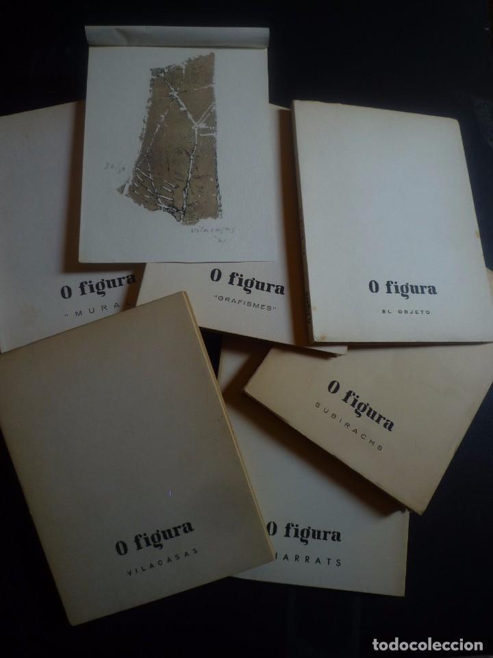 0 FIGURA. COLECCIÓN COMPLETA. 7 NÚMEROS. 3 MONOGRÁFICOS DE: SUBIRACHS, THARRATS I VILACASAS (Arte - Catálogos)