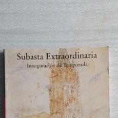 Arte: CATÁLOGO SUBASTA 244 FERNANDO DURAN 14,15 Y 16 DE OCTUBRE 2003. Lote 91095540