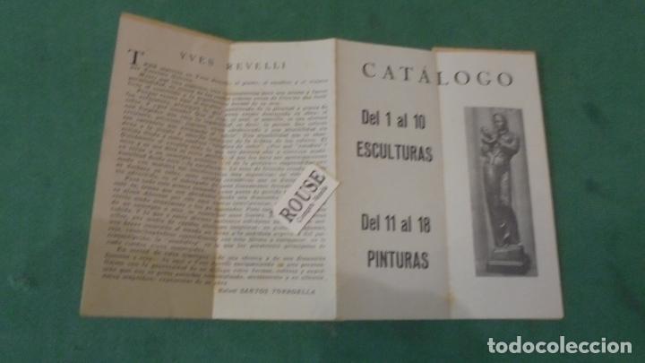 Arte: COBALTO 49 - YVES REVELLI ESCULTURAS Y ESTUDIOS DE COLOR 1950 GALERIA SAPI PALMA DE MALLORCA DEL 1 - Foto 2 - 91797500