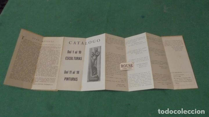 Arte: COBALTO 49 - YVES REVELLI ESCULTURAS Y ESTUDIOS DE COLOR 1950 GALERIA SAPI PALMA DE MALLORCA DEL 1 - Foto 3 - 91797500