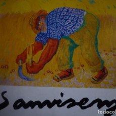 Arte: RAMON SANVICENS. FUNDACIÓ CAIXA DE BARCELONA. 1986 . Lote 92203810