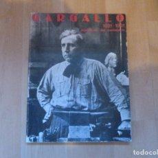Arte: GARGALLO 1881 1981 EXPOSICION DEL CENTENARIO Mº CULTURA 1981 181 PP. Lote 92685595