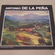 Arte: ANTONIO DE LA PEÑA. EXPOSICIÓN EN GALERÍA BAY SALA BILBAO (FEBRERO 1978). FIRMADO POR EL ARTISTA.. Lote 92906609