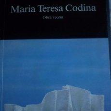 Arte: MARIA TERESA CODINA. OBRA RECENT. CLAUSTRE DEL REIAL MONESTIR DE SANT CUGAT DEL VALLÈS (BARCELONA). . Lote 93229770