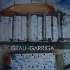 Arte: JOSEP GRAU-GARRIGA. MERCAT LABERINT. MUSEU DE GRANOLLERS. 1986. Lote 93231580